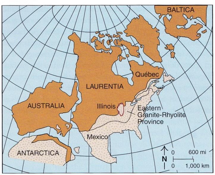 Laurentia-Precambrian